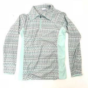 Columbia fleece pullover jacket half zip